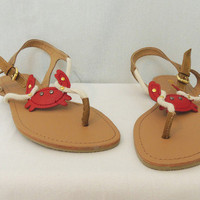 Crab Flat Sandals - &amp;#36;30.00 | Daily Chic Shoes | International Shipping