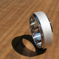 Men's Wedding Band by spexton on Etsy