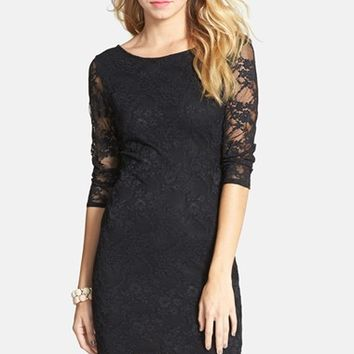 BP. Lace Body-Con Dress (Juniors)