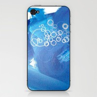 BUBBLES iPhone & iPod Skin by Linnea Heide | Society6