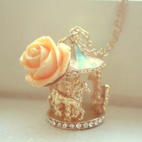Carousel necklace by lepetitebonbon on Etsy