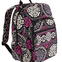 Vera Bradley Campus Backpack Canterberry Magenta