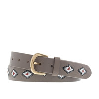 J.Crew Womens Beaded Belt