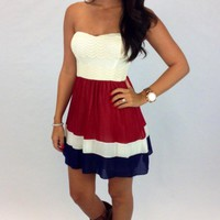 Junky Trunk Boutique. Country Strong Dress