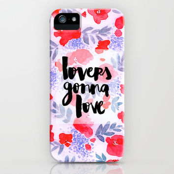 Lovers - Collaboration by Jacqueline Maldonado and Galaxy Eyes iPhone & iPod Case by Jacqueline Maldonado