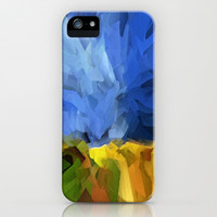 Wheat Field, Storm Approaching iPhone & iPod Case by Paul Kimble