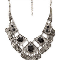 Tribal-Inspired Bib Necklace
