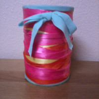 Ribbon Pencil Holder by bohosurfershack on Etsy