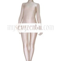 Catsuits & Zentai Spandex Flesh Lycra Unisex Zentai Suit Unicolor Zentai Suits [TZEN039] - $35.99