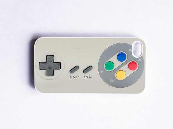 iPhone 4 Case Retro NES Game Controller by onyourcasestore