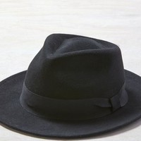 AEO Women's Glory Hats By Goorin Francis Fratelli Fedora (Black)