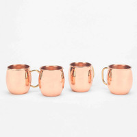 Moscow Mule Shot Mugs- Pack Of 4 - Urban Outfitters