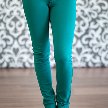 Jeggings - Turquoise