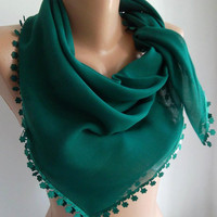 Green Shawl   by womann
