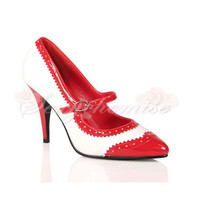 Patent Leather Pretty Pointed Toe Pumps [TQL120321111] - 46.59 :