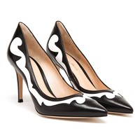 GIANVITO ROSSI | Two-tone Pointed Pumps | Browns fashion & designer clothes & clothing