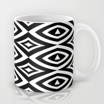 Black And White Mug by Ornaart