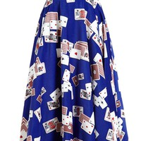OLYMPIA LE-TAN | Playing Cards Midi Skirt | Browns fashion & designer clothes & clothing