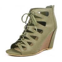 Olive Mountain Grove Wedges