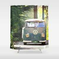 Peace Love Nature Shower Curtain by RDelean
