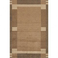 Momeni Gramercy 09 Brown Wool Rug - GM-09Brown - Wool Rugs - Area Rugs by Material - Area Rugs