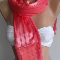Pink Elegance Shawl / Scarf by womann on Etsy,,,,