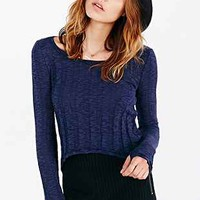 Silence + Noise Buffy Cropped Top - Urban Outfitters