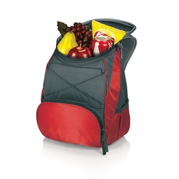 SheilaShrubs.com: PTX Cooler Backpack - Red/Dark Grey 633-00-100-000-0 by Picnic Time : Coolers