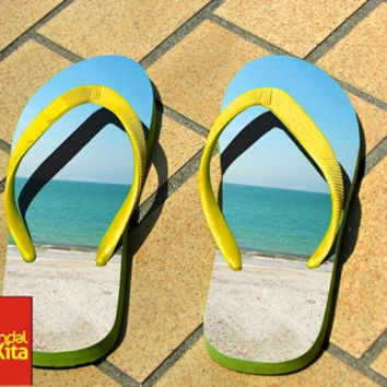 Flip Flops - beach happy