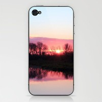 Sunrise Moment iPhone & iPod Skin by John Dunbar | Society6