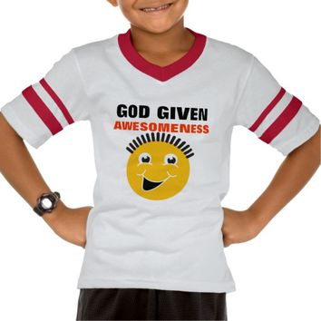 God Given Awesomeness Youth Shirt