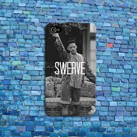 SWERVE Swag Funny Cell Phone Case Quote Rubber Cover iPhone 4 4s iPhone 5 5s 5c