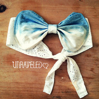 Bow Bandeau Top. Bikini Cover Up