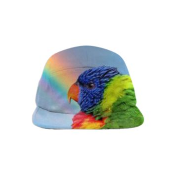 Rainbow Lorikeet Baseball Hat created by ErikaKaisersot | Print All Over Me