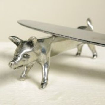 Manor Fine Wares: Pig Knife Rest