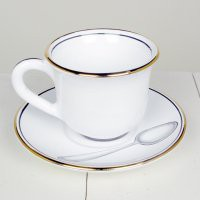 Manor Fine Wares: Deruta Posata Teacup And Saucer