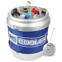 The Remote Controlled Rolling Beverage Cooler - Hammacher Schlemmer
