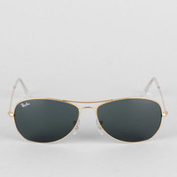 Ray-Ban Sunglasses Cockpit Aviator Sunglasses in Gold :: tobi
