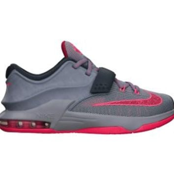 Nike KD VII 3.5y-7y Kids' Basketball Shoes - Magnet Grey