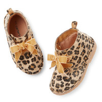 Carter's Animal Print Ankle Bootie