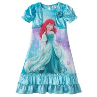 Disney Princess Ariel Mock-Layer Dress-Up Nightgown - Toddler