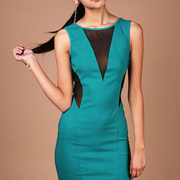 Mesh Spade Dress - Cocktail Dresses at Pinkice.com