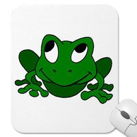 Frog Mousepad from Zazzle.com