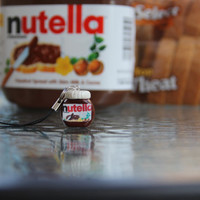Nutella Polymer Clay Phone Charm