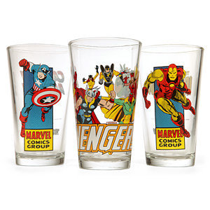 Marvel Comics Pint Glass