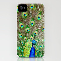 Peacock II iPhone Case by Ann B. | Society6