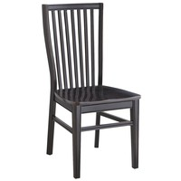 Ronan Dining Chair - Rubbed Black