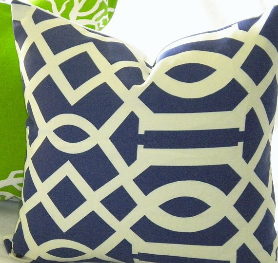 Designer Indoor/Outdoor  pillow cover 16 x 16