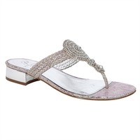 Adrianna Papell Dashing Metallic Sandal at Von Maur