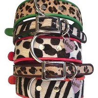 Zebra, Leopard, Spot Slim or Wide Collars